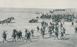 Ascari eritrei in marcia