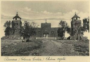 Asmara Cattedrale Copta