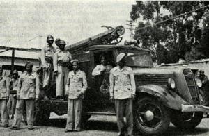 Squadra ed automezzo nel 1951