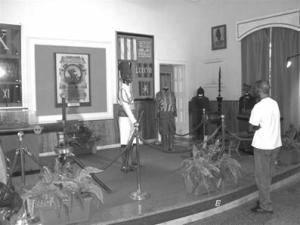 Asmara - Entrata alla Mostra alla Casa degli Italiani (Padre Protasio)