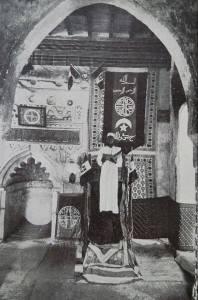 3marzo1928, Mogadiscio_Moschea-Giama-Discorso_cadì-Abibacher