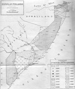 somalia italiana_le fasi della conquista fascista