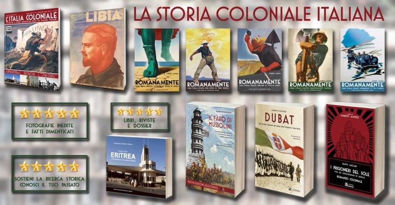 Pubblicazioni storia coloniale italiana_libri