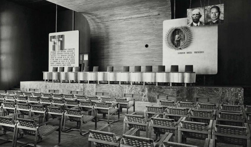 Aula Magna Università Bocconi di Milano - 1941