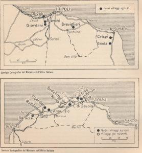cartografia fascista Libia