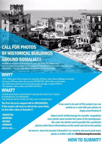 Call for photos of Somalia #buildachange