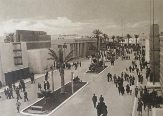 Fiera_Tripoli_Uno dei viali