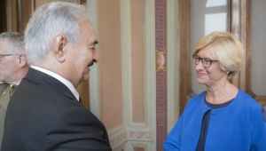LIBIA: GENERALI A ROMA; OGGI AL TAWIL, MARTEDÌ HAFTAR