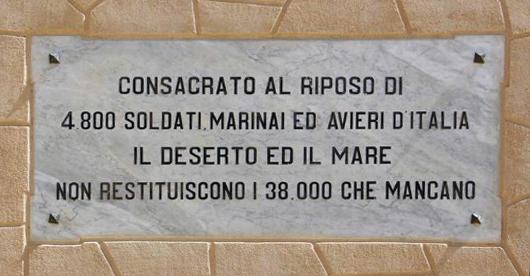 El Alamein_Quota 33_sacrario