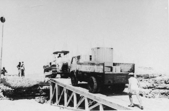 Macchinari dell'ENI in Somalia nel 1953