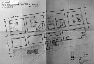 Mogadiscio, studio per il risanamento del quartiere Scingani