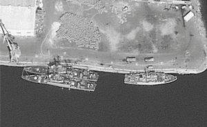 Saudi warships seen at Assab
