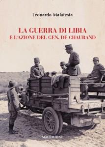 Copertina volume De Chaurand e la guerra di Libia