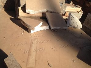 Asmara, Eritrea - Cimitero ebraico vandalizzato (13)
