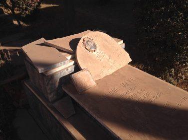Asmara, Eritrea - Cimitero ebraico vandalizzato (2)