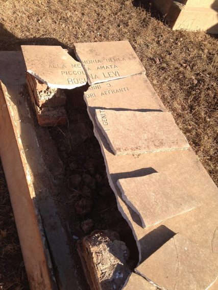 Asmara, Eritrea - Cimitero ebraico vandalizzato (4)
