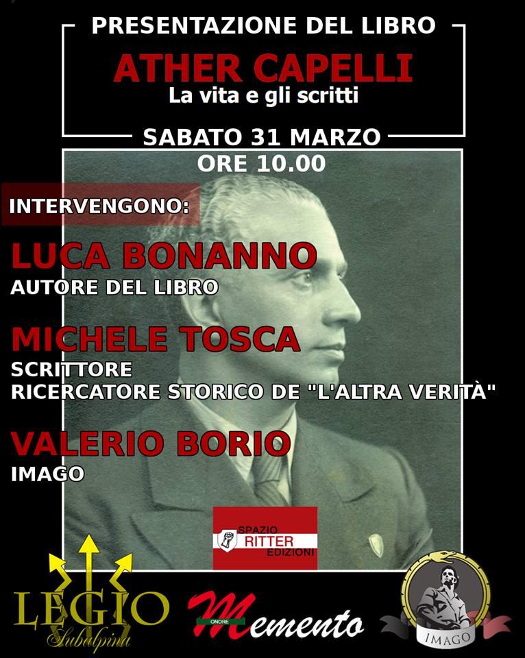 Presentazione libro Ather Capelli