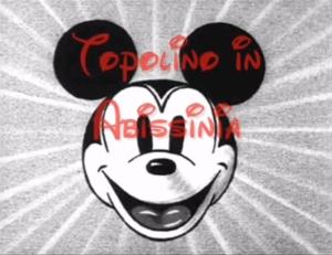 Topolino in Abissinia_1935-Crivel