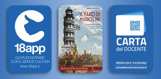Bonus-cultura_Carta del Docente_Il faro di Mussolini