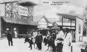 1911, Torino_Esposizione Coloniale_Villaggio Somalo