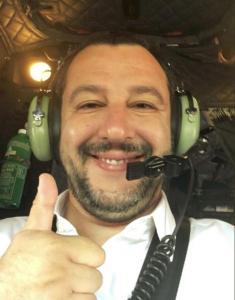 Matteo Salvini_si parte_Libia_Tweet