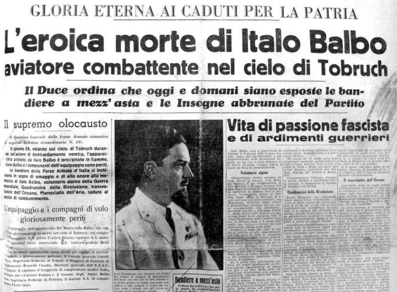 Morte Italo Blabo_1940-30.giugno