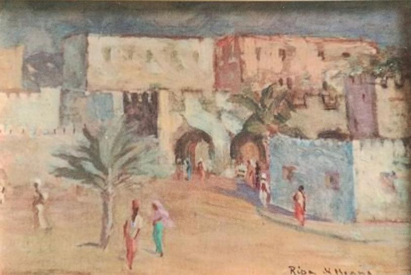 Dipinto Umberto Ripa di Meana (1)