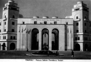 I.N.F.P.S = Istituto Nazionale Fascista della Previdenza Sociale_Tripoli