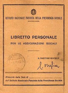 Risultati immagini per Istituto Nazionale Fascista della Previdenza Sociale