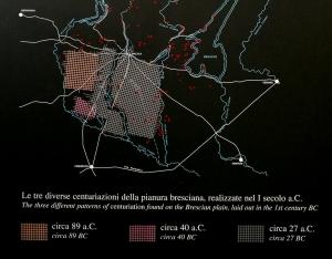 Centuriazione di Brescia_Brixia romana