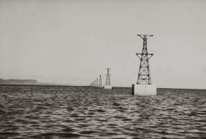 Hafun teleferica per il trasporto del sale sulle navi