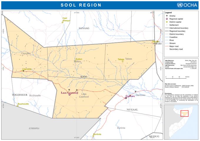 Sool region_Somalia