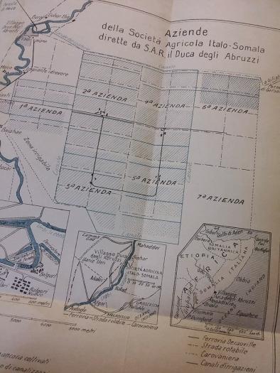 Mappa Villaggio Duca degli Abruzzi