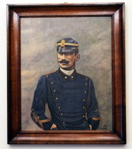 Vittorio Bottego quadro di Franco Cagna