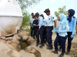 lezioni pratiche del NOE a Gibuti