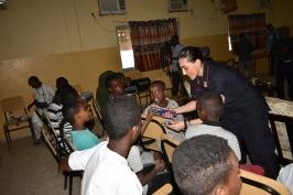 prima conferenza nelle scuole a Gibuti