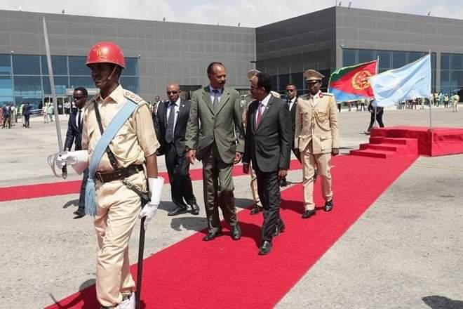 Somalia_Eritrea_Isaias Afewerki_Mohamed Abdullahi Mohamed (3)
