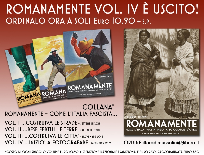 collana romanamente_colonialismo italiano_come l'italia fascista