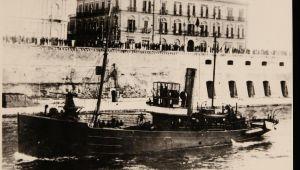 1 Cannoniera Cirene (Da cartolina)