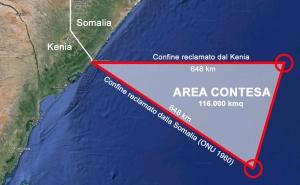 Disputa confine marittimo Kenya-Somalia