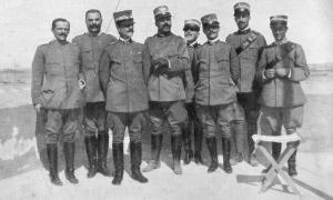 Generale_Caneva_a_tripoli_stato_Maggiore
