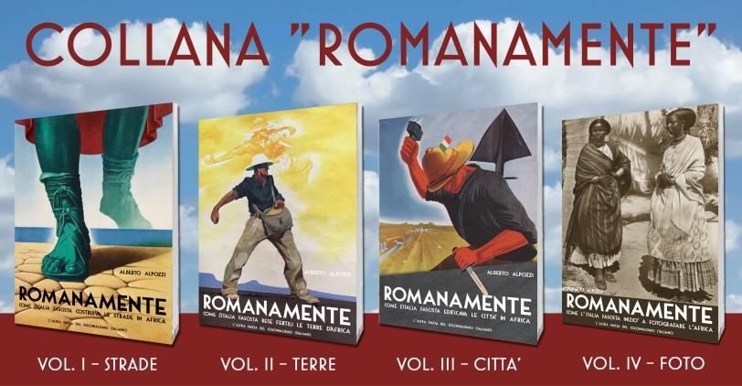 collana romanamente-italia fascista-africa