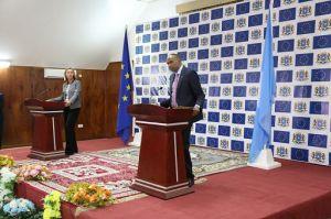 Somalia/ Mogherini in Somalia, prima tappa della visita in Corno d'Africa