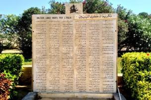 El Alamein. Militari libici morti per l'Italia