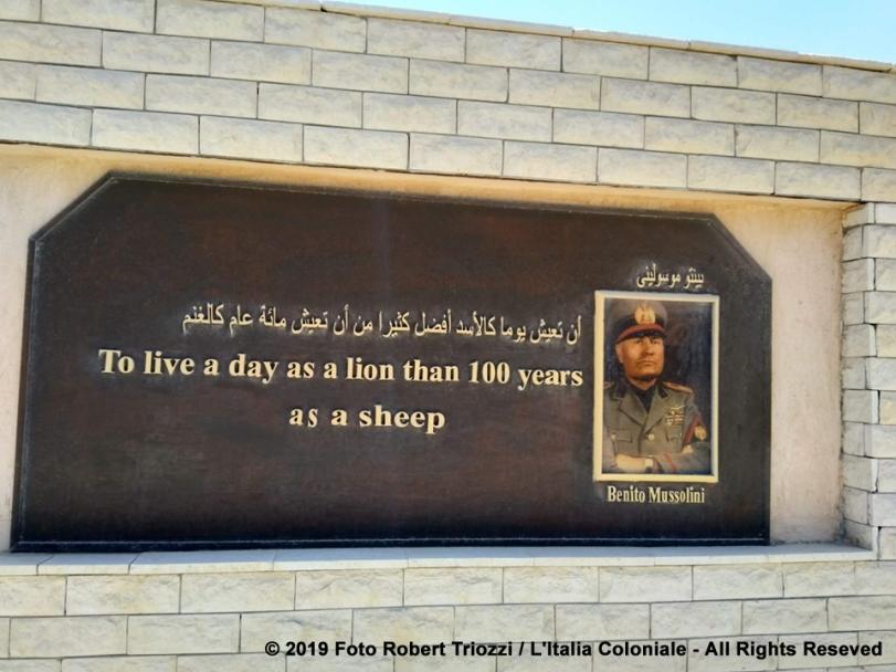 Museo Militare El Alamein_Mussolini