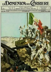 Copertina-Domenica-del-Corriere-15-Ottobre-1911