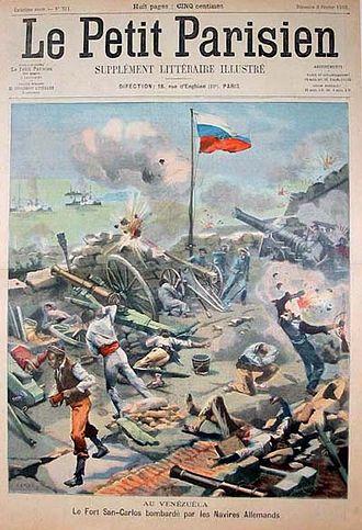 Copertina_petit_parisien_sul_bombardamento_Fuerte_San_Carlos_1902