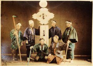 Pompieri cinesi XIX-XX secolo. (da www.fotografieincomune.comune.milano.it