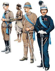 Ufficiali del Corpo Speciale d'Africa (1896)