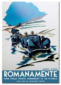 Cover_Romanamente – Come l'Italia fascista modernizzò le vie d'Africa